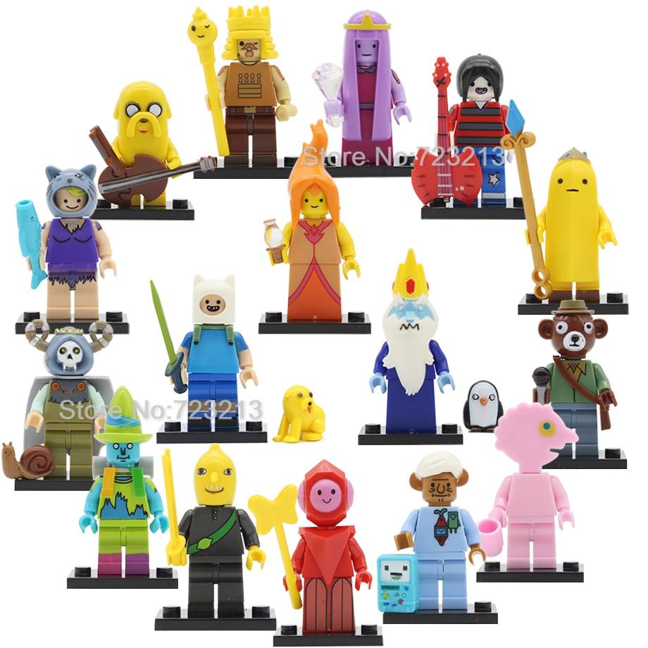 Blocks Toys & Hobbies Learned 20pcs Cartoon Tv Bricks Adventure Mo And Bi Mo Time Marceline Pulis Mo Learning Buliding Blocks For Children Toy Gift Pg1261