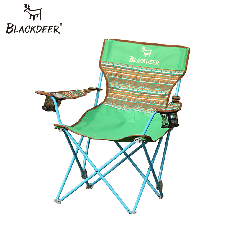 BLACKDEER Adjustable Backrest Armchair Portable Folding Chairs Fishing Stool Camping Beach Outdoor Garden Picnic Beach Chairs bamboo bamboo portable folding stool have small bench wooden fishing outdoor folding stool campstool train