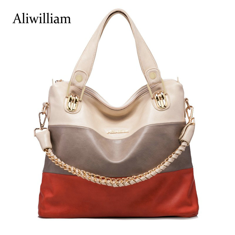 Aliwilliam All Two colors are available BRAND Genuine Leather bag bags Handbags women Shoulder bags OL