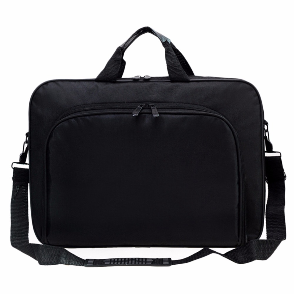 Portable Business Handbag Shoulder Laptop Notebook Bag Case Multifunction for men women Durable,in stock!