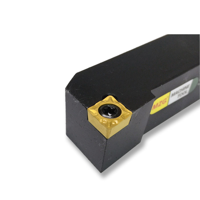 MOSASK External turning tool SCLCR2020K09 CNC Lathe External turning Tool bar Adapter 80 degree lozenge blade CCMT 20mmx20mm lathe cutting 90 degree external turning tool 126mm length