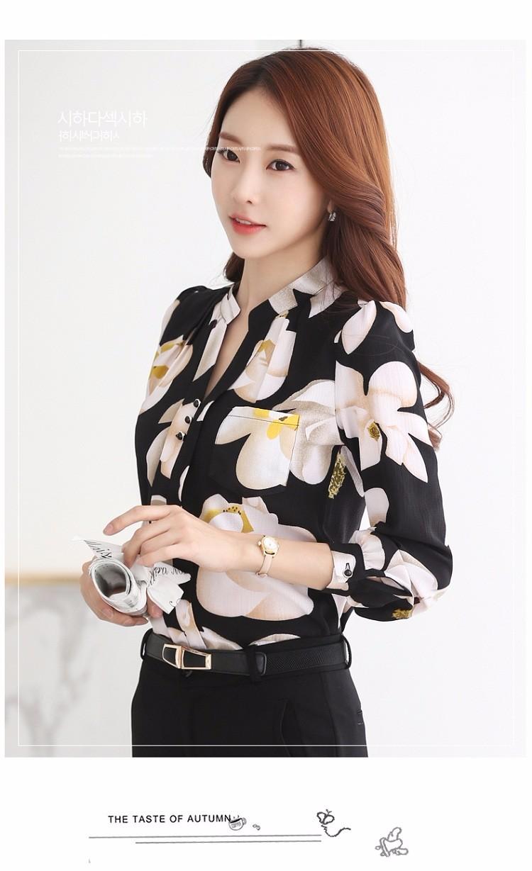 HTB1p5lKNVXXXXXdXVXXq6xXFXXXJ - Autumn Fashion Blouse Office Work Wear shirts Women Tops