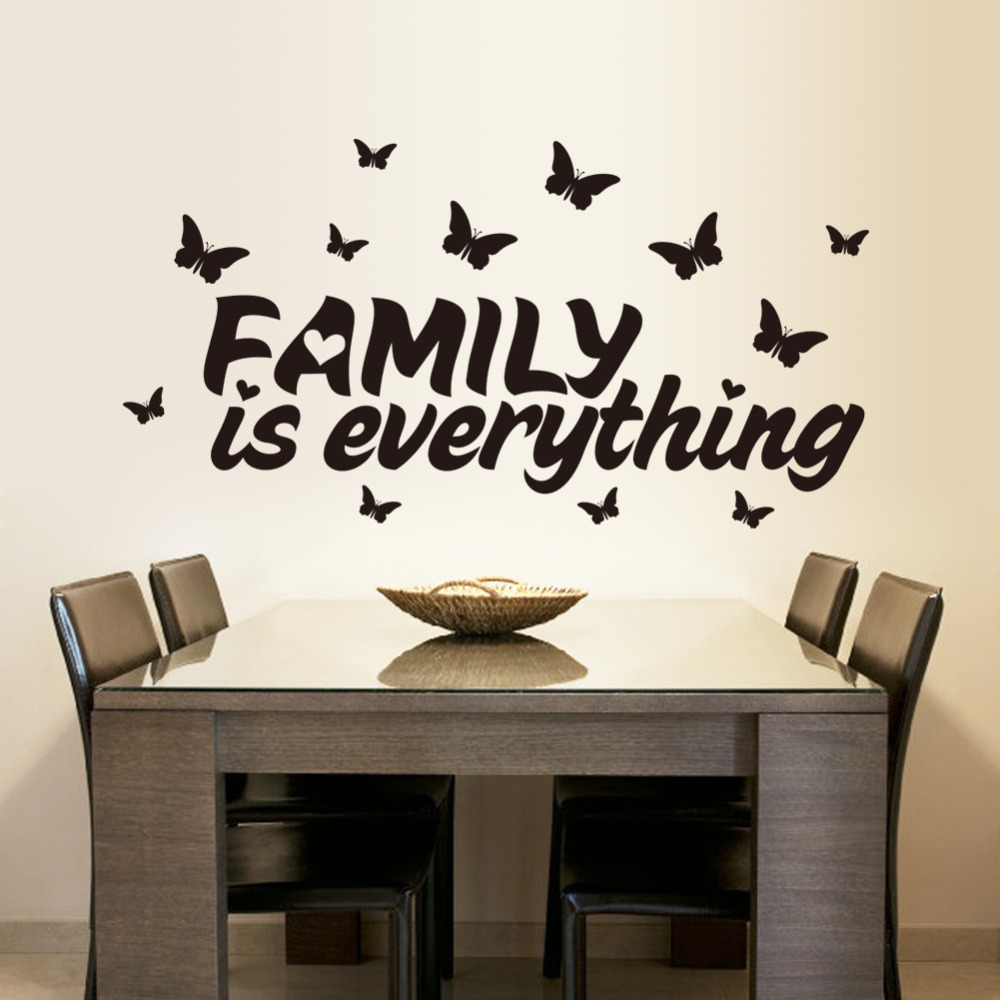 High Quality Butterflies And Family Home Decor Wall