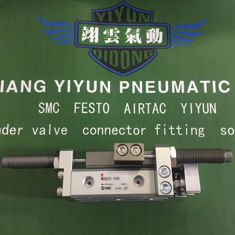 MXQ20-10B MXQ20-20B MXQ20-30B MXQ20-40B SMC Original slipway cylinder MXQ series mxq20 10b mxq20 20b mxq20 30b mxq20 40b mxq20 50b smc air slide table cylinder pneumatic component mxq series