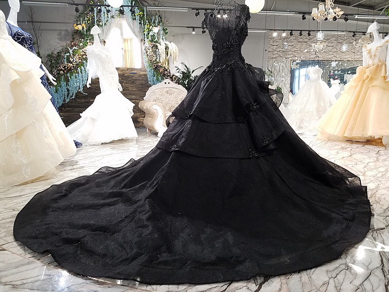 bc4ad49bcfe5e Aliexpress.com : Buy Black sexy Evening Prom dresses 2018 New Design Ball  gown Vestidos Elegant Evening dress Party Gown from Reliable designer party  gowns ...