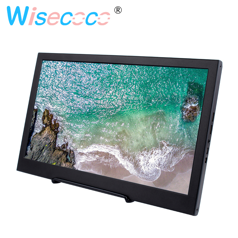 13.3 inch 1920x1080 Portable Computer Monitor PC HDMI PS4 Xbox360 1080P IPS LCD LED Display Monitor for Raspberry Pi 3B 2B 113.3 inch 1920x1080 Portable Computer Monitor PC HDMI PS4 Xbox360 1080P IPS LCD LED Display Monitor for Raspberry Pi 3B 2B 1