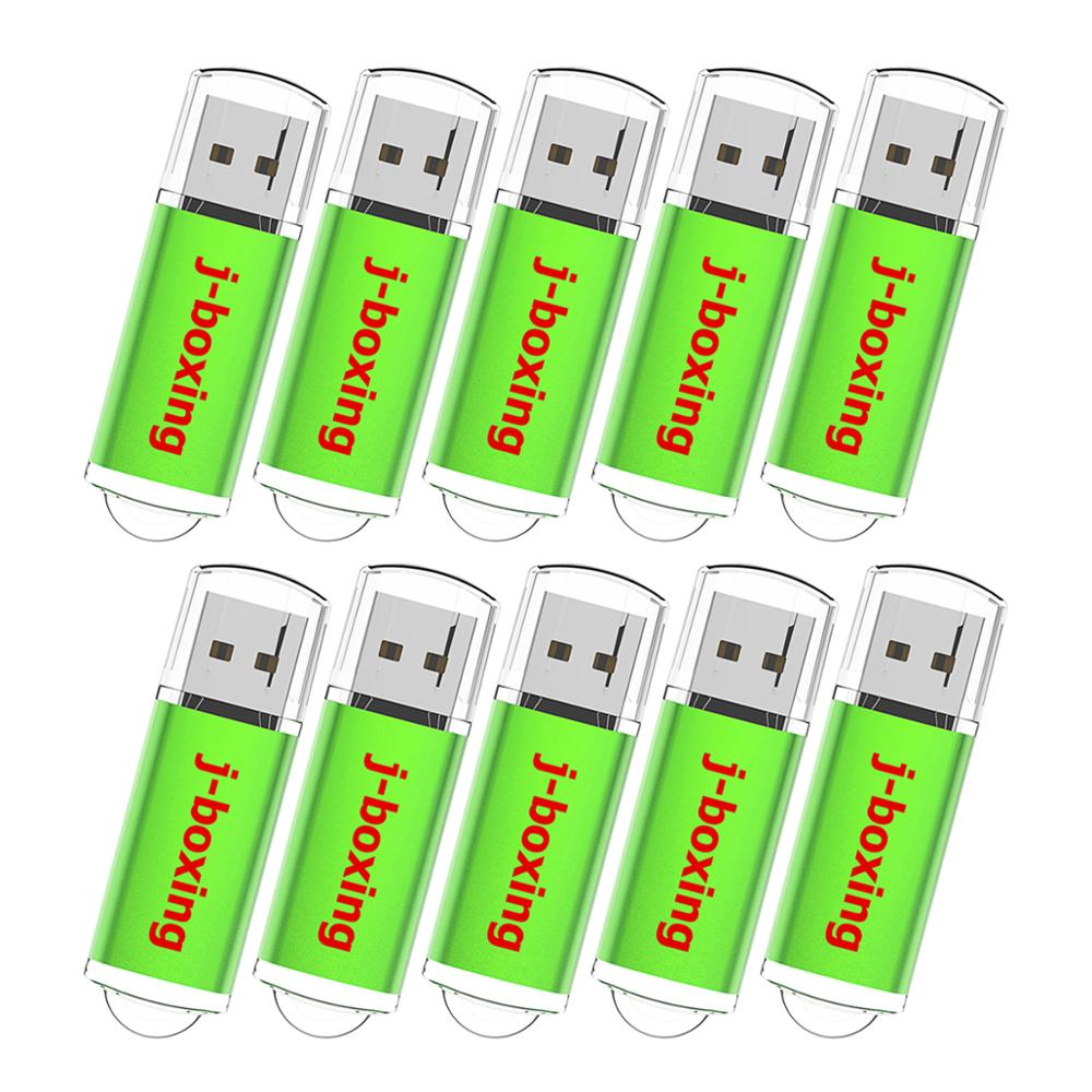 Image 5 - J boxing USB Flash Drive 10PCS/Pack 1GB 2GB 4GB 8GB 16GB 32GB Rectangle Pendrive Thumb Drive USB 2.0 Memory with Cap for PC Mac-in USB Flash Drives from Computer & Office