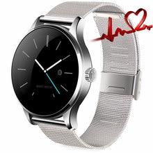 3 Tipo de Versión K88H Reloj Inteligente Usable Dispositivos MTK2502 Smartwatch Bluetooth Monitor de Ritmo Cardíaco Reloj Para IOS Android