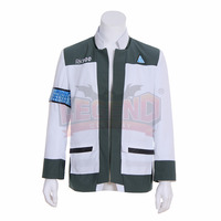 Game Detroit: Become Human Connor Cosplay Costume Coat adult costume halloween costume custom made Coat Jacket only