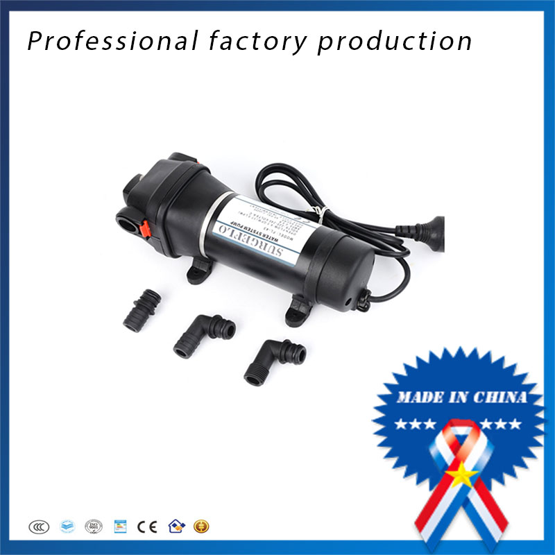 FL-43 220V AC Household Full Auto Self-priming Diaphragm Pump For Water Heater Trail Pipeline Water Supply 6162 63 1015 sa6d170e 6d170 engine water pump for komatsu