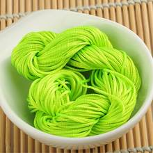 New Arrivals 1mm*20M 20 Color Nylon Cord Thread Chinese Knot Macrame Rattail 1mm*30M For DIY Bracelet Braided(China)