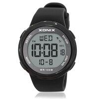 XONIX Fashion Men Sports Watches Waterproof 100m Outdoor Fun Multifunction Digital Watch Swimming Diving Wristwatch Reloj Hombre