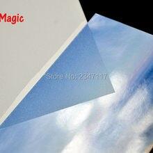 Звезда волшебная A4 фото Волшебная пленка для холодного ламинирования 50sheets/уп