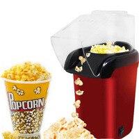 Mini Household Eletric Popcorn Maker Silicone Popcorn Machine Hot Air Automatic Popper Snacks Gift For Kids Children