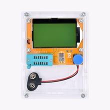 2017 Latest LCR-T4 ESR Meter Transistor Tester Diode Triode Capacitance Mos Mega328 Transistor Tester + CASE (not Battery )
