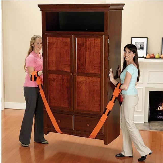 Muebles de gran tamaño, grandes Electrodomésticos, Mover Objetos pesados Móvil Correa Cuerda Mudanza Llevar Cinturón