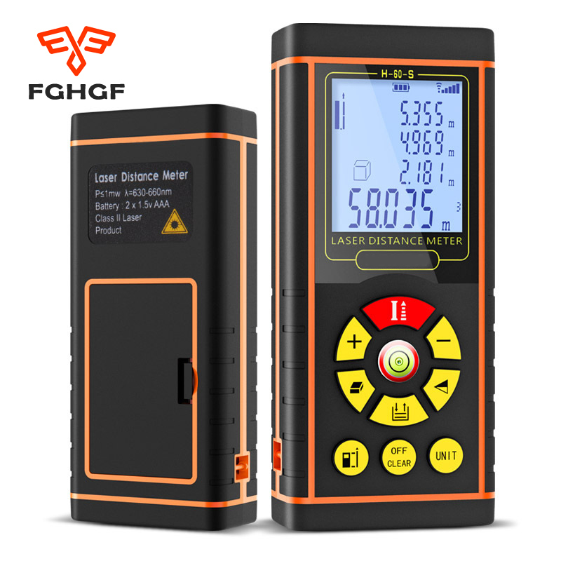 Fghgf 40/60/80/100 м электронные цифровые Лазерный дальномер измеритель оптической дальномер Охота измерения инструменты