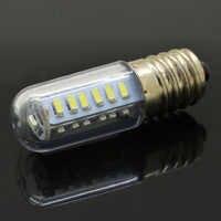 1x Mini E14 LED lámpara de cristal SMD3014 7W AC 220V vela maíz bombillas gama luces de campana refrigerador Luz