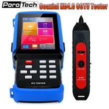 DHL профессиональная CCTV Тест er монитор IPC9310 H.265 4K IP 5MP AHD 8MP CVI TVI CVBS камера тест er ONVIF POE UTP/RJ45 TDR тест