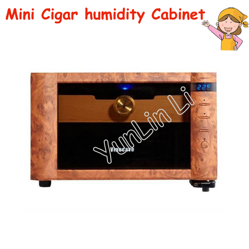 Mini Cigar Humidity Cabinet 23L Electric Thermostatic & Constant humidity Cigar Storage Cabinet SC-08B недорго, оригинальная цена