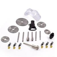 6pcs Set Mini HSS Saw Circular Saw Blade Rotary Tools For Dremel Metal Cutter Power Tool