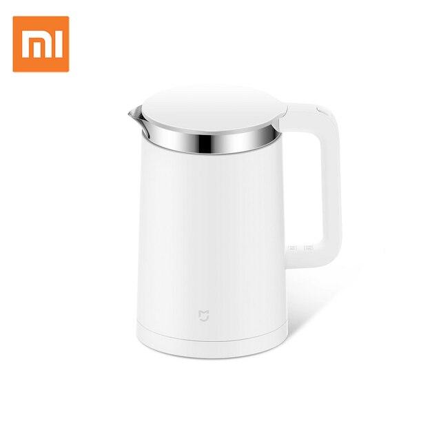 Mijia Bouilloires électriques thermostatiques avec contrôle de téléphone portable en acier inoxydable 304 intérieur 1.5L