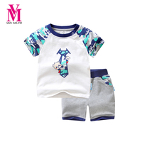 Vanmajor 2 Pcs Kids Boys Clothes Summer 2017 New Baby Boy Clothes Children Toddler Boys Clothing