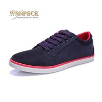 Autumn New Men S Suede Canvas Shoes Non Slip Rubber At The End Of Men With