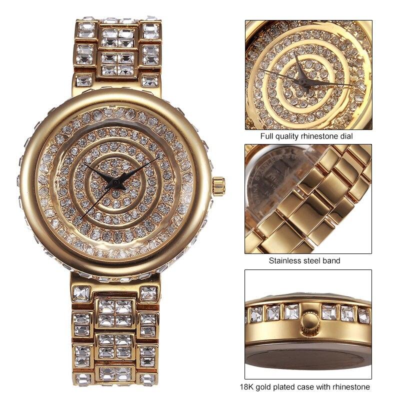 MISSFOX Miss Fox Merk Casual Dameshorloges Zilveren Armband Horloge - Dameshorloges - Foto 3