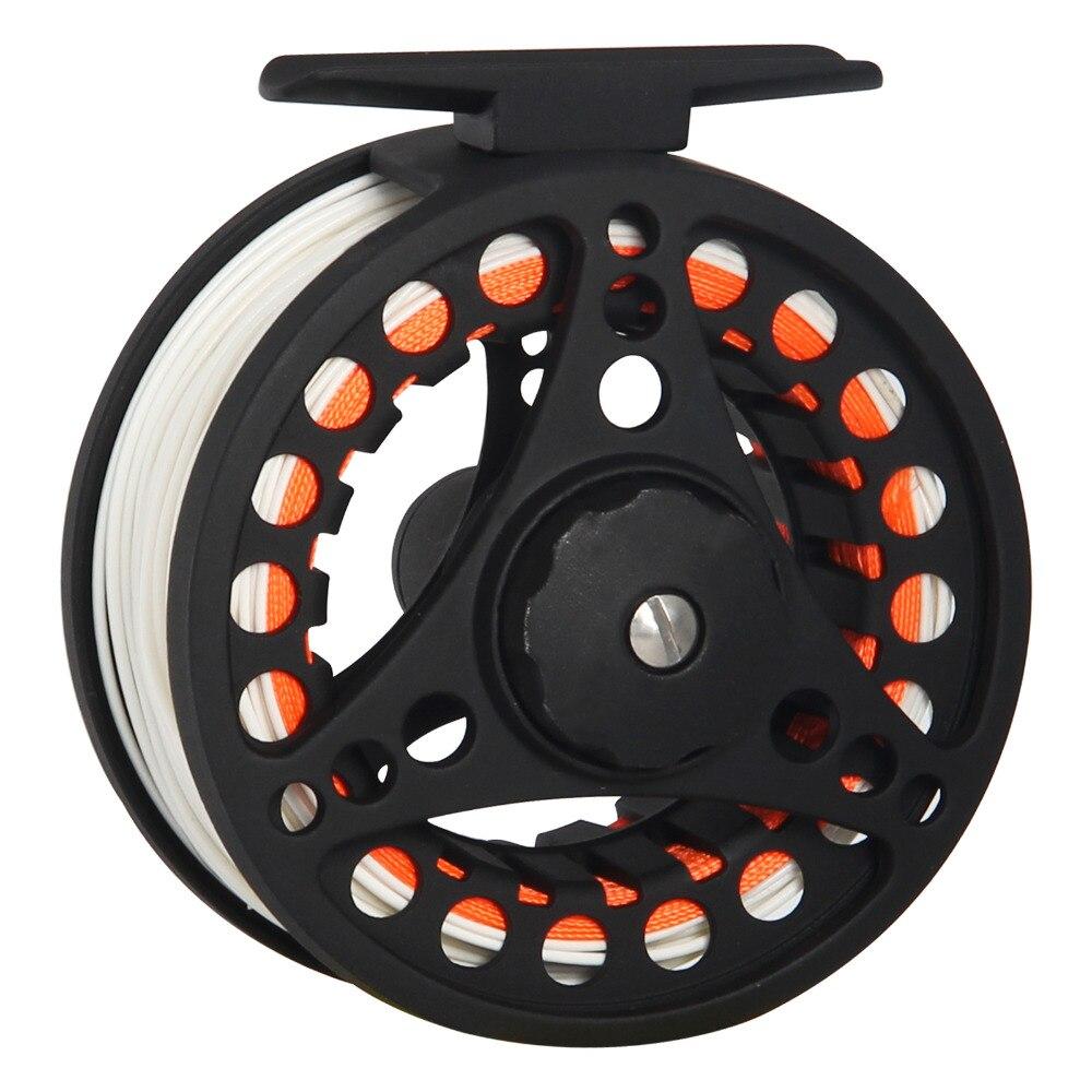 Aluminium Fly Fishing Reel Spool Spinning Casting Fly Fish Line Wheel Tackle