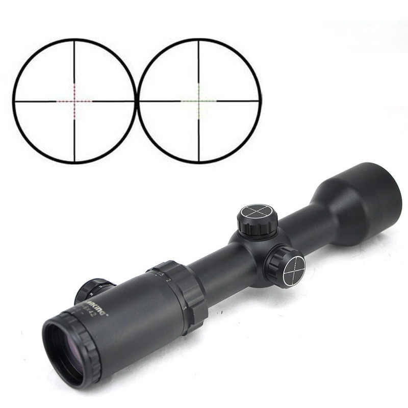 Visionking 1.5-6x42 Compact Waterproof Rifle Scope 30mm Tube Outdoor Hunting Optical Sights Suit For Airsoft  .223