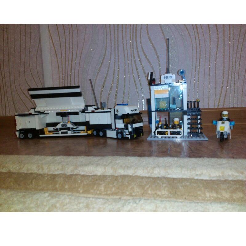 KAZI Bina Blokları Polis Bölməsi Model Bina Blokları Uyğun Legoe - Uşaq konstruktorları - Fotoqrafiya 6