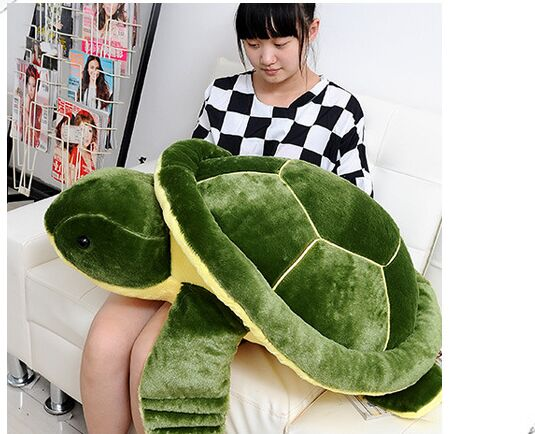 large 85cm green turtle plush toy,soft throw pillow gift ,Christmas gift 0207 1pcs 10 25cm small size turtle plush tortoise toy cute turtle plush pillow stuffed toy cushion for girls vanlentine s day gift