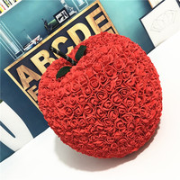 Large size Valentines Gift Rose apple Multicolor 40 PE flower diy gift for Wedding Girlfriend Anniversary birthday free shipping