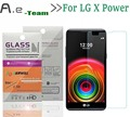 Aierwill Front Explosionproof 9H+2.5D Tempered Glass Film for LG X Power K220 K220DS Clear Screen Protector For LG X Power K220