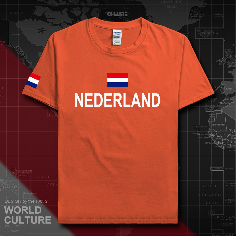 Detail Feedback Questions about Netherlands Low Countries t shirt man  jerseys 2017 t shirt 100% cotton Dutch nation team sporting meeting fans  fitness ... 1bf9939fe