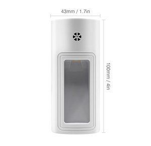 Image 2 - Boruit Plug In Sensor Led Nachtlampje Warm White Night Lamp Voor Slaapkamer Babykamer Sensor Gang Trap Licht eu/Us/Uk Plug
