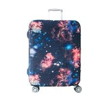 Elastische galaxy trolley koffer abdeckung für 18-32 zoll gepäck schutzhülle schützen staubbeutel fall reise zubehör versorgung produkt