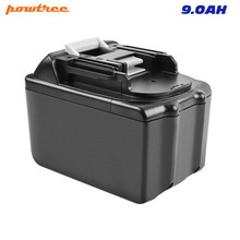 Powtree 18V 9000mAh For Makita High Capacity BL1830 LXT400 BL1815 BL1840 BL1850 BL1860 Replacement Power Tools Lithium Battery цена и фото