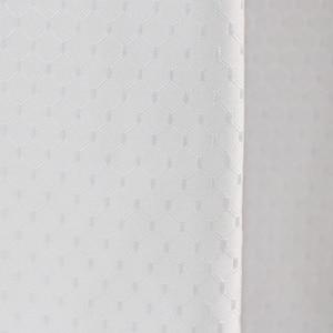 Image 3 - Uالجمعة العلامة التجارية الأبيض الهراء الحمام دش الستار مقاوم للماء البوليستر السميك للفندق ديكور المنزل ستارة حمام شاشة الحمام