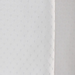 Image 3 - UFRIDAY ยี่ห้อวาฟเฟิลสีขาวผ้าม่านห้องน้ำกันน้ำโพลีเอสเตอร์หนาสำหรับโรงแรม Home ตกแต่งผ้าม่านอาบน้ำหน้าจอ