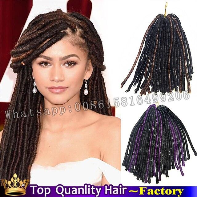 tissage kanekalon synthetic soft dreads darling hair crochet hair