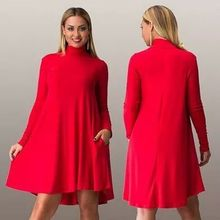 2016 Elegant Spring Fashion Maternity Dresses Clothes Pregnant Women ClothingTurtleneck long Sleeve loose large size casual