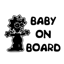 Baby on Board Cars Stickers 3D Vinyl Car Wrap for Auto Product