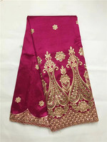 African George Fabric High Quality Nigerian George Lace Fabric,Royal Blue African Swiss Lace Fabric For Nigerian Wedding Party