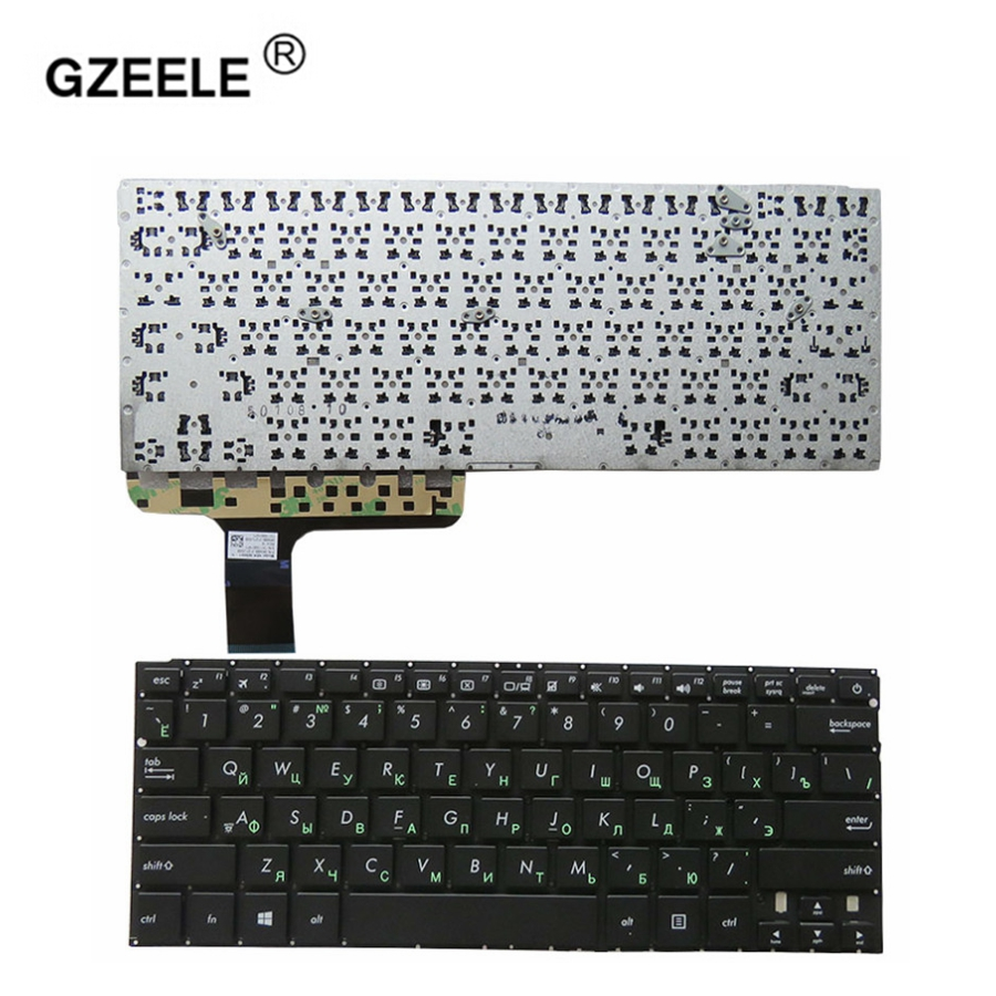 GZEELE Russian Keyboard For ASUS Zenbook UX305 UX305F UX303A U303LN N305 N303 N303U Black No Frame laptop Keyboard RU layout new
