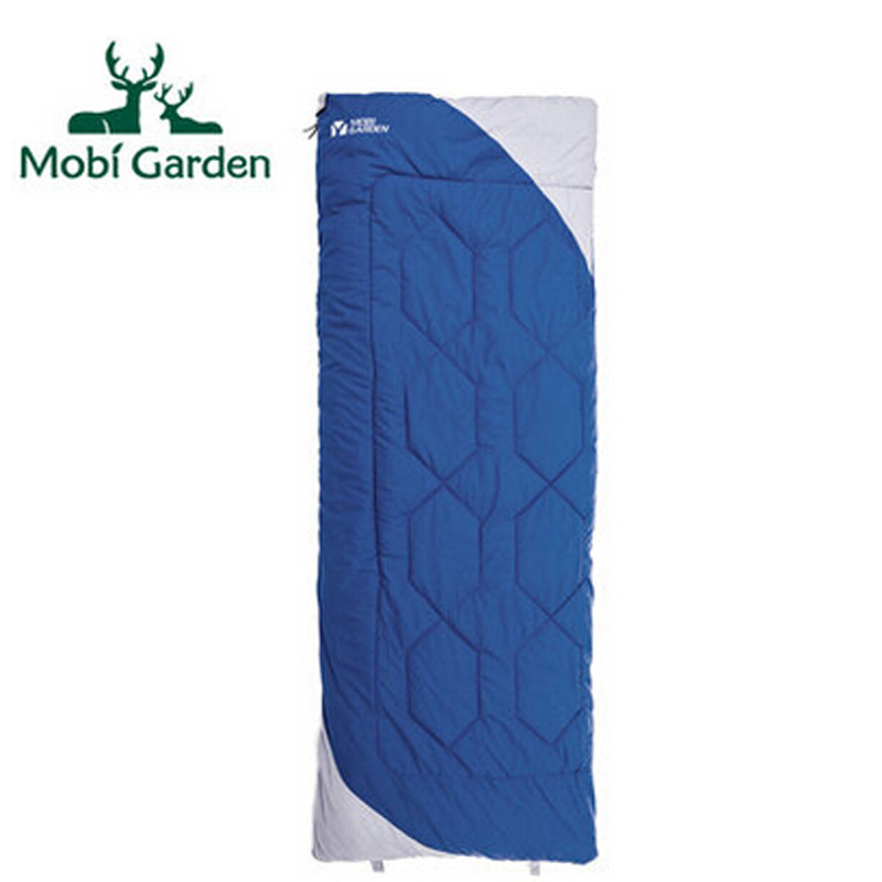 Outdoor equipment Cold and windproof envelope type can be spliced thick adult cotton sleeping bagOutdoor equipment Cold and windproof envelope type can be spliced thick adult cotton sleeping bag