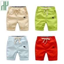 Kids Shorts Beach Infant Toddler Boy Casual Embroidery Elastic Waist Children Pants Trousers Clothing Baby Summer