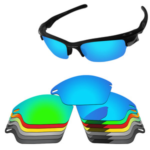 PapaViva POLARIZED Replacement Lenses for Fast Jacket Sunglasses 100% UVA & UVB Protection - Multiple Options