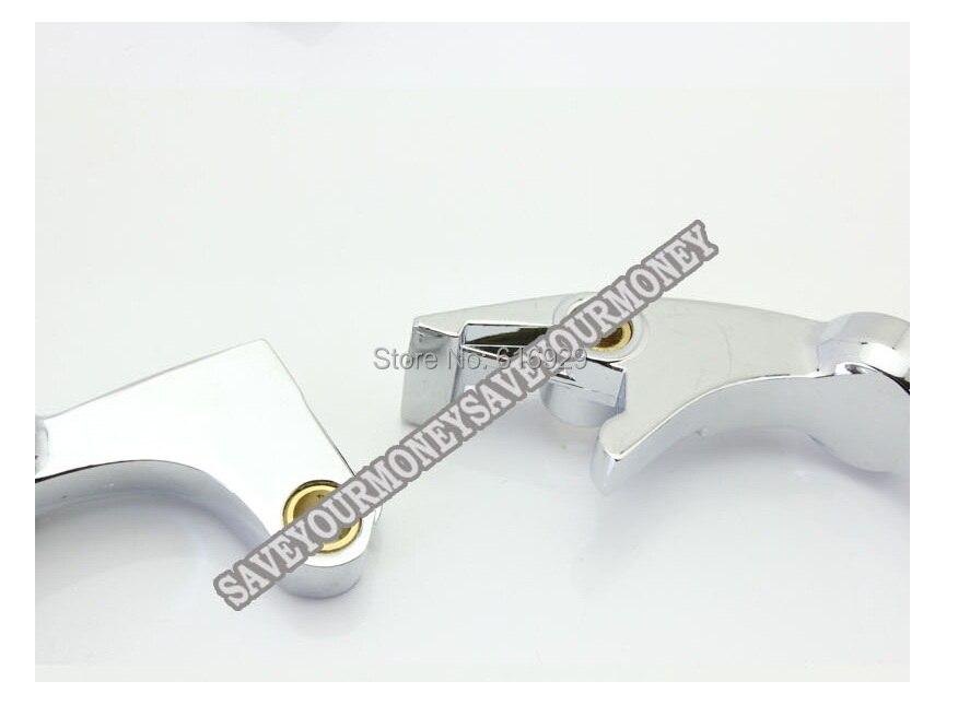 CNC Brake /& Clutch Levers For HONDA VT 750C//VT750RS//VT750DC//VT 750C2 Shadow